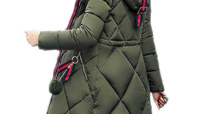 Детская куртка-парка для девченки